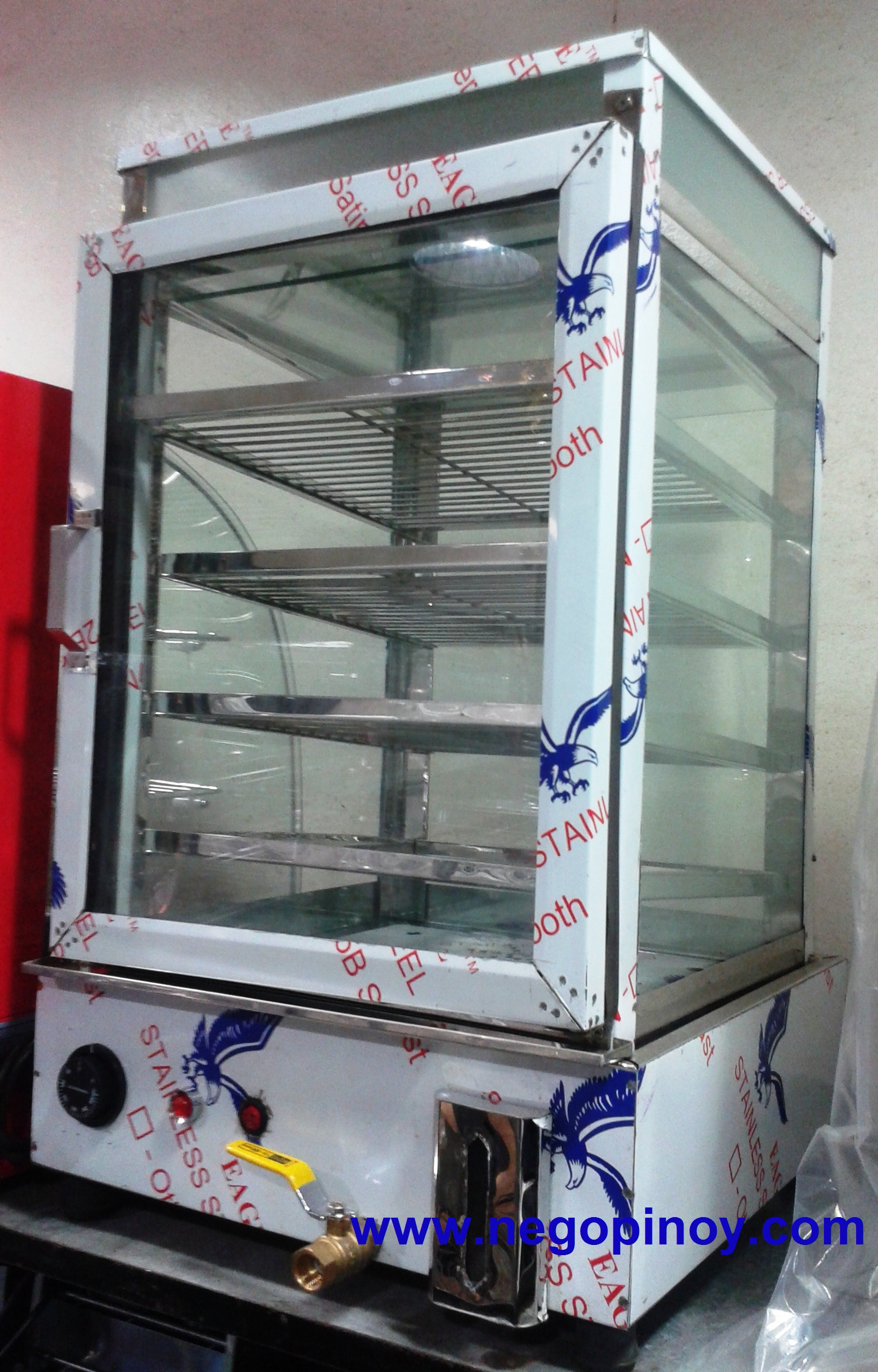 Glass Electric Steamer ~ Siomai siopao dimsum steamer « negopinoy trading